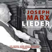 CD: Marx accompanies his songs